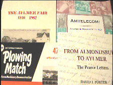 4 Vols Canadian History Aylmer West Ontario Jaffa Yarmouth Malahide Township.