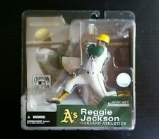 McFarlane MLB Cooperstown Collection REGGIE JACKSON Oakland A's Chase Figure
