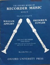 The Oxford Books Of Recorder Music Arr Appleby And Fowler -Book 3