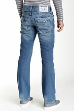 TRUE RELIGION JEANS NWT Men's Mid Rise Basic Straight Flap Pocket Jean 34 X 34