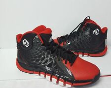 Derrick Rose 773 II Black Red White Basketball Shoes Size 13