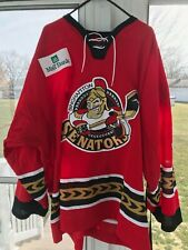 2005-06 Binghamton Senators Cody Bass Authentic Game-Worn jersey