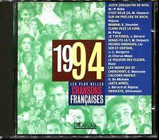 LES PLUS BELLES CHANSONS FRANCAISES - 1994 - CD COMPILATION ATLAS