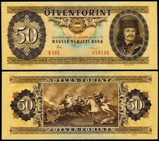 HUNGARY 50 FORINT 1986 P170g UNCIRCULATED