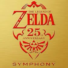 The Legend of Zelda 25th Anniversary Symphony Special Orchestra CD Soundtrack