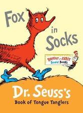 FOX IN SOCKS by DR. SEUSS Bright & Early BOARD BOOK
