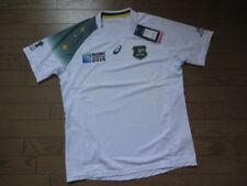 Australia 100% Original Rugby Jersey Shirt L 2015 World Cup Away Wallabies[2702]