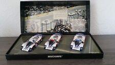 1/43 Coffret Porsche 956L Winner 1982 24h Le Mans 1-2-3 Minichamps 402826503