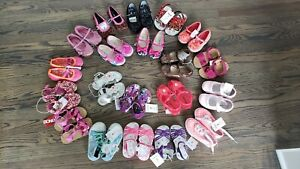 Toddler Girls Size 7 Asst. Styles Sandals/Shoes NWT Each Sold Separately