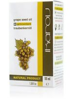 IKAROV PURE GRAPE SEED 55ml face neck body 100 % NATURAL MASSAGE ESSENTIAL