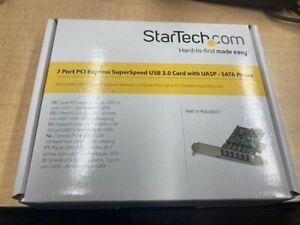 Startech PEXUSB3S7 7 Port PCI Express USB 3.0 Card