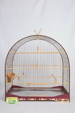 Cages Nº5 Red For Other Wooden Birds Canary As Curios