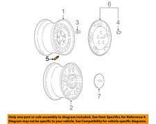GM OEM-Wheel Valve Stem 9439866