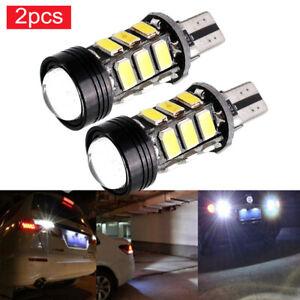 2pcs Xenon White Car Auto Canbus T15 W16W 5630 COB 15-LED Backup Reverse Light