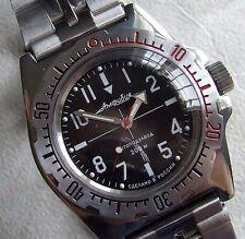 Russische mechanische Uhr. Automatik. Vostok. DIVER. 20 ATM..