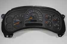 4G) 03-04 GENUINE OEM GM FULLY REBUILT REPLACEMENT SILVERADO WHOLE TRUCK CLUSTER