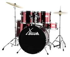 "Réf. 17672 XDrum Ensemble de Batterie Semi 22"" Rouge"