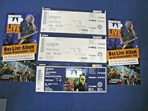 NIEDECKENS BAP - 3x Concert Tickets Karlsruhe Tour 2018 - 2x Flyer Live-Album