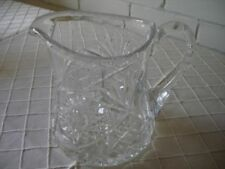 Antique Original Etched Crystal & Cut Glass