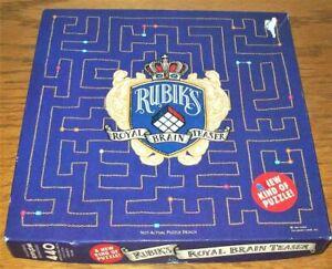 SPRINGBOK Jigsaw Puzzle RUBIK'S ROYAL BRAIN TEASER 440P Unopened Package PZL3446