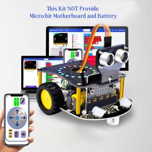 KEYESTUDIO Robot Car Kids Toys Starter Kit for BBC Microbit (No Board&Battery)