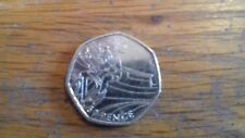 2012 OLYMPIC 50p PIECE CYCLING