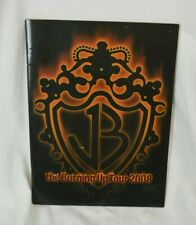 Jonas Brothers 2008 The Burning Up Tour Concert Program Book Booklet