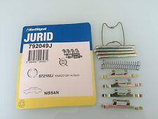 Zubehörsatz, Scheibenbremsbelag JURID 792049J für NISSAN Sunny, Cherry, Datsun