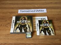 Tomb Raider: Underworld (Nintendo DS, 2008) Complete - Authentic - FREE SHIPPING
