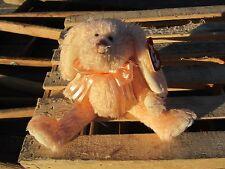 "TY Beanie Baby CAMELIA bunny rabbit approx 8"" long 6"" sitting 1993 Plush Animal"