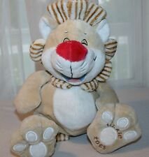 NUBY Hugs N Tickles LION Tickle Toes Giggling Plush Luv N Care 2008 Stuffed Toy