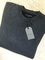 "ALL SAINTS CHARCOAL MARL ""HESTER"" CREW JUMPER SWEATSHIRT TOP - S M L XL NEW TAGS"