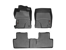 WeatherTech Floor Mat FloorLiner for Honda Civic Sedan - 2012-2013 - Black