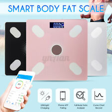 180KG Digital Smart Health Bathroom Body Fat BMI Muscle Weighing Weight