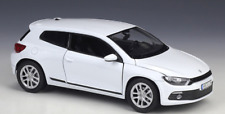 Welly 1:24 VW Scirocco Diecast Model Racing Car White NEW IN BOX