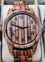 Orologio da polso in legno wood da uomo top brand ottima qualità