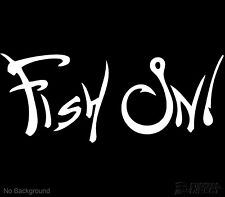 Fish On Decal Fishing Boating Vinyl Sticker Boats Cars Windows Buy 2 Get 1 Free