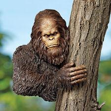 Sasquatch Sculpture Yeti Bigfoot Tree Statue Garden Sculpture New