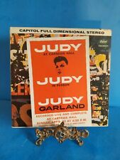vinyl records lp Judy Garland Live at Carnegie Hall Double album