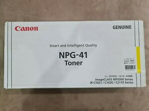 Canon Genuine NPG-41 Toner imageCLASS MF9300 IR Series Colour Yellow