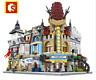 Sembo Blocksteine Shop Tierhandlung Restaurant Figur Spielzeug Modell Geschenk