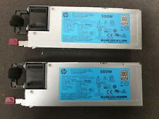 2x754377-011 HP 500 WATT FLEX SLOT PLATINUM HOT PLUG PSU FOR HP DL360 ML350 GEN9