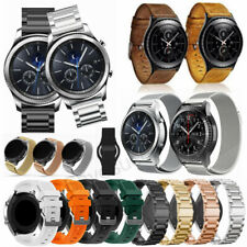 Milanese/Stainless Steel/Leather Band Strap For Samsung Galaxy Watch 3 45mm 46mm