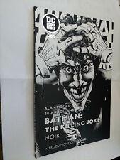 BATMAN THE KILLING JOKE NOIR - DC BLACK LABEL RW LION - CARTONATO NUOVO
