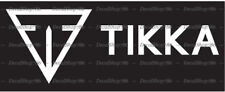 Tikka Firearms - Outdoor Sports / Hunting - Vinyl Die-Cut Peel N' Stick Decals
