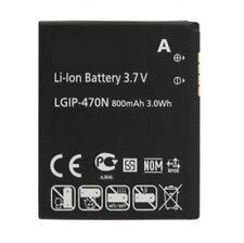 LGIP-470N Replace Battery for LG 800mAh Li-Ion GD580 GD580E SV800 KH8000 LH8000
