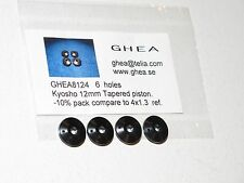 GHEA 8124 Racing 12mm Tapered 6 Hole Pack Pistons 4x1.3 Kyosho RB5 RB6 RT5 ZT-5