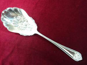 MILAN Silverplate DESIGN BOWL CASSEROLE BERRY SPOON 1847 Rogers Flatware