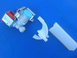 NEW icemaker Water valve Invensys S-86-QC N / # W10219716 / 120V / from iC13B