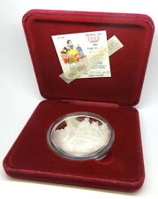 DISNEY Snow White 50th Anniversary PRINCE Collectable .999 Fine 5oz Silver Medal
